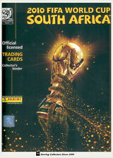 2010 FIFA South Africa World Cup Soccer Trading Card Set (198)+Album-COMPLETE