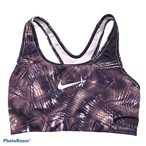 Nike Sports Bra No Padding XS Purple