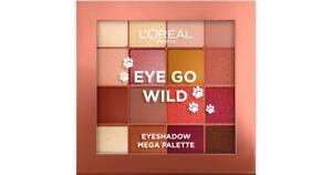 L'Oreal Paris Eyeshadow Mega Palette Eye Go Wild
