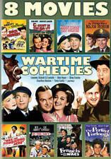 8 WARTIME COMEDIES MOVIES BING CROSBY, ABBOTT, CHARLTON HESTON, TONY CURTIS  DVD