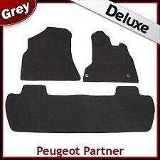 Peugeot Partner Multispace 2008 2009...2011 Tailored LUXURY 1300g Car Mats GREY
