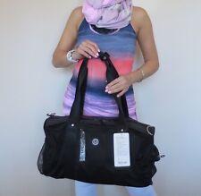 NWT (Tag Detached) Lululemon Run On Duffel Gym Yoga Bag Black