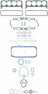 Chevy 350/5.7 Fel Pro Full Engine Gasket Set/Kit Head+Intake+Oil Pan 1986*-90*