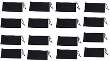 Wholesale Lot 200 Black Micro Fiber Sunglasses Carrying Pouch Case Bag cleaner