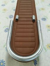 HONDA CB500 CB550 CB750 CAFE SEAT & HOOP FLAT BROWN.MAY FIT OTHER HONDA YAMAHA