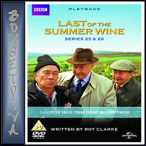 LAST OF THE SUMMER WINE - COMPLETE SERIES 25 & 26  **BRAND NEW DVD*