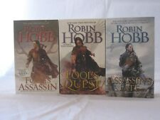 The Fitz and the Fool Trilogy #1-3: Book Series by Robin Hobb (Mass Market PB)