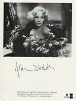 Marlene Dietrich Signed Autographed Magazine Page Shanghai Express GV892898