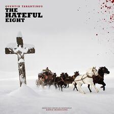 HATEFUL EIGHT LP (double vinyl) Quentin Tarantino Ennio Morricone white stripes