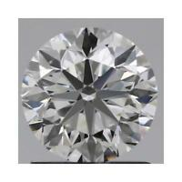 Charles and Colvard 9mm Round Forever One DEF Hearts & Arrows Moissanite wCard