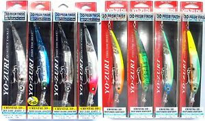 Yo Zuri CRYSTAL 3D Deep Diver Jointed 130 25g Japan Sea Fishing Lure,Hard Bait