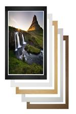 Wood Photo Frame Picture Frames Poster Frame Modern Wood Black Silver Oak White