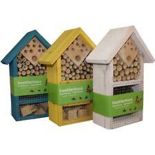 3x Insektenhaus Insektenhotel Brutkasten Nistkasten Insekten Bienen 25 cm Neu