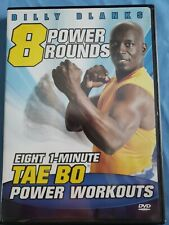 8 Power Rounds, Tae Bo, Billy Blanks, Dvd. Pre-owned