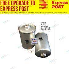 Wesfil Fuel Filter WZ311 fits Saab 9-3 2.0 SE Turbo,2.0 Turbo,2.3 i,2.3 Turbo