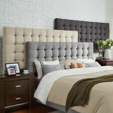 12-Cube Thick Pad Crushed Velvet Bed Headboard Divan Single,Double,Super King-20