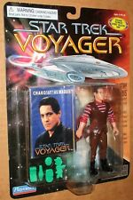 #000002 Star Trek Voyager Low Number Chakotay Figure MOC 1996 Playmates Employee