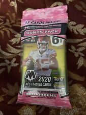 1 Panini 2020 Mosaic Pink Camo Nfl Football Cards other Packs Available