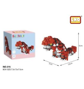 Nintendo Pokemon Groudon 231pcs Nano Blocks