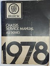 Werkstatthandbuch Buick Skylark, Century, Regal, LeSabre, Electra & Riviera 1978