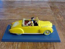 Voiture miniature Tintin au 1/24ème La décapotable de Haddock