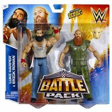 WWE Battle Pack Luke Harper vs. Erick Rowan 6in Action Figures - Series #31 New!