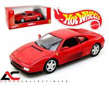 HOTWHEEL X5532 1:18 FERRARI 348 TB RED SUPERCAR DIECAST