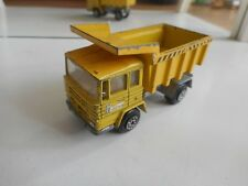 Mira Pegaso Dump Truck in Yellow on 1:64