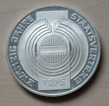 100 Schilling 1975 Österreich 20 Jahre Staatsvertrag PP Silber
