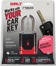 Bolt Lock 7032288 Padlock Jeep uses center cut ignition key