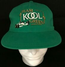 Vintage TEAM KOOL GREEN Indy Car Racing Cap - New With tags
