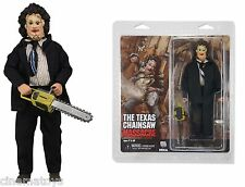 Texas Chainsaw Massacre Leatherface 20cm Clothed Action Figure Abiti Stoffa NECA