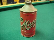 Metz Cone Top Vintage Beer Can - Opened, Empty