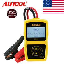 Autool BT-360 12V Vehicle Battery System Tester Car Charging Test Analyzer US