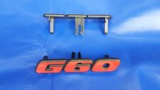 Emblem Schriftzug G60 G 60 1.8 1,8 VW Golf 2 II Jetta Kühlergrill Grill 90-91