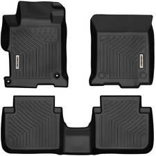 Oedro Floor Mats Liners Fit for 2013-2017 Honda Accord Sedans Heavy Duty Tpe