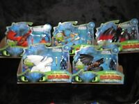 How To Train Your Dragon 3: Hidden World~Full Set of 5~Toothless Light Fury