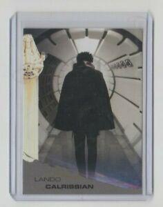 Topps Solo: A Star Wars Story Black Trading Card #78 Lando Calrissian