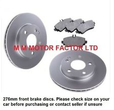 MERCEDES A CLASS S168 W168 A170 CDi  A190 A210 FRONT BRAKE DISCS AND PADS SET