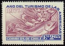 CHILE 1972 Tourism Year of the Americas Sc431/ SG703 Fish and Produce MNH @RM485