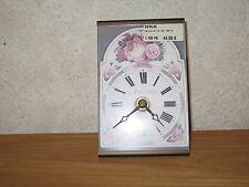 *NEW* Horloge avec Roses 13,5x9cm
