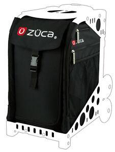 ZUCA Sports Insert Bag OBSIDIAN Black - NEW - No Frame - FREE FAST Shipping!!!