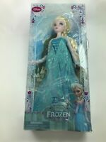 "Disney Store Frozen Classic Doll Collection 12"" Elsa- Original 2013 NIB Rare Nw4"