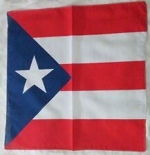 PUERTO RICO FLAG BANDANA Cotton Scarves Scarf Head Hair Neck Band Skull Wrap