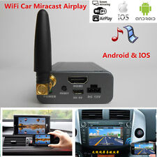 Universal Car Miracast Airplay Android IOS TV WiFi Mirabox Screen Mirror Link