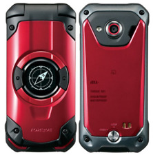 KYOCERA KYF33 TORQUE X01 RED WIFI TOUGH RUGGED android flip phone UNLOCKED