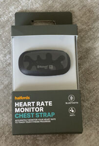 Halfords Heart Rate Monitor & Cheststrap