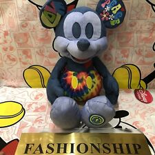 Mickey mouse memories june plush Disney store genuine Love and peace NWT
