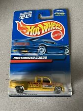 Hotwheels Toy Truck Customized C3500 Thorn Brothers