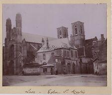Laon Picardie France Photo Amateur Vintage citrate 1900